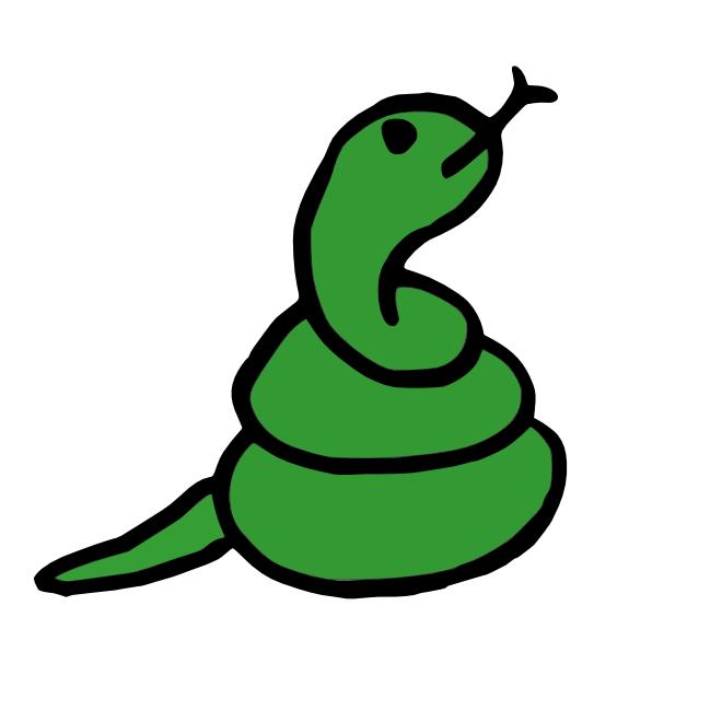 2013年の干支【巳年】【蛇】のイラストまとめ