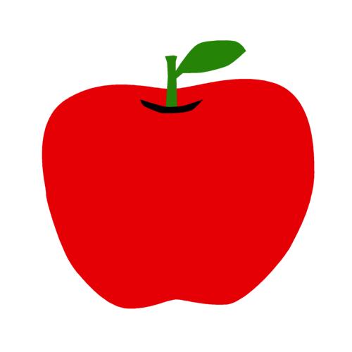 「イラスト リンゴ 無料」の画像検索結果