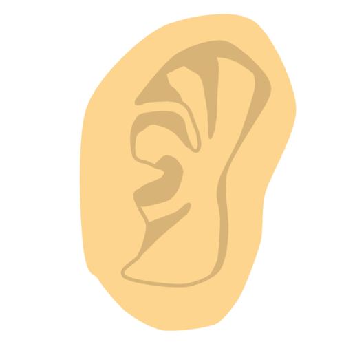 耳 イラスト