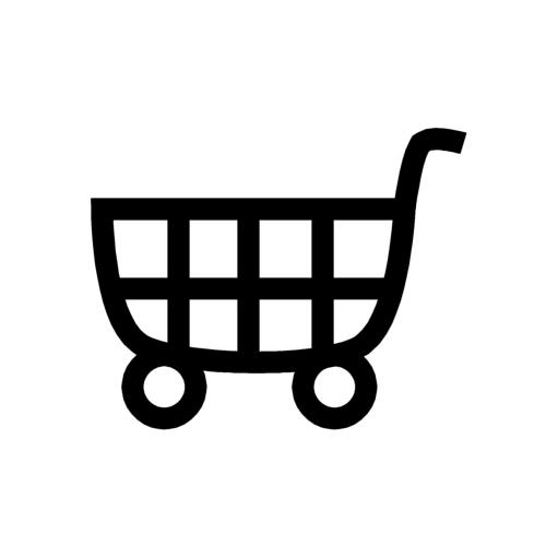 ショッピングカートの無料イラスト(オーフリー写真素材)for smart phone